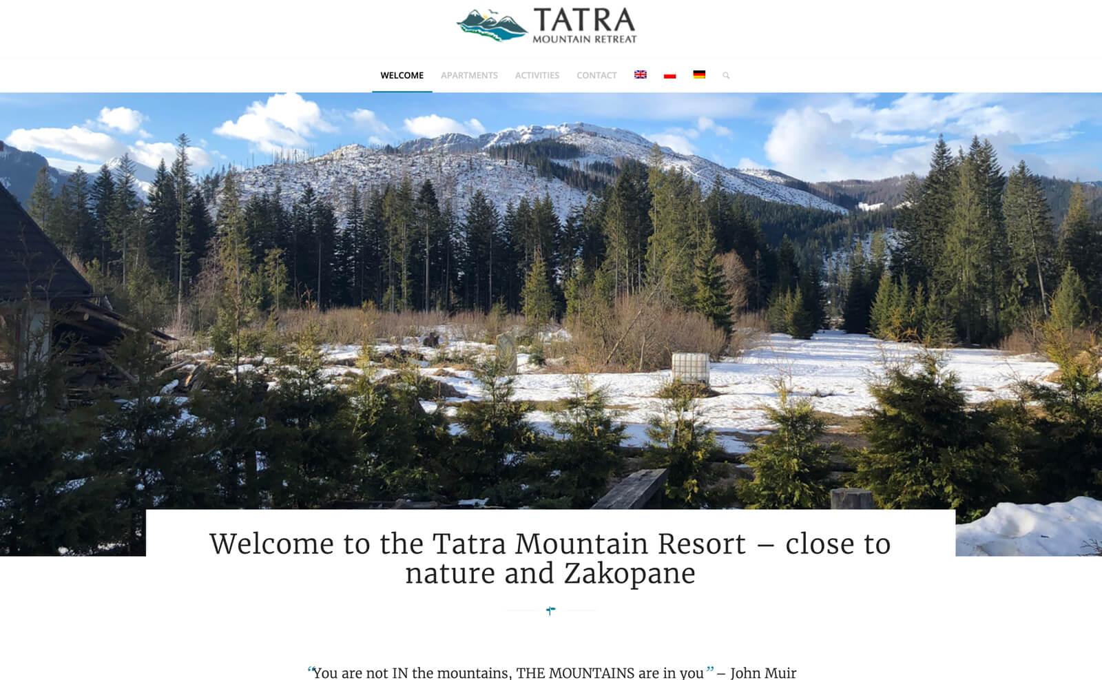 Tatra Mountain Retreat Home